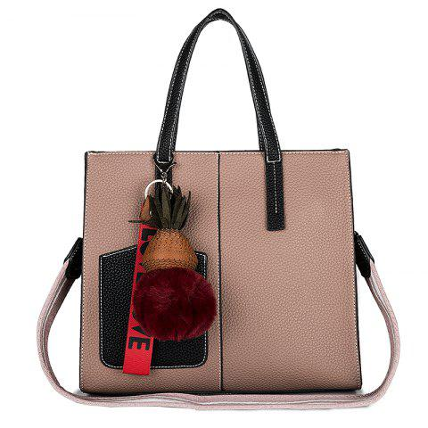 Unique PU Women Casual Zipper Shoulder Bag