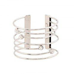 Gothic Punk  Jewelry Open Adjustable Cuff Bracelet Bangles -
