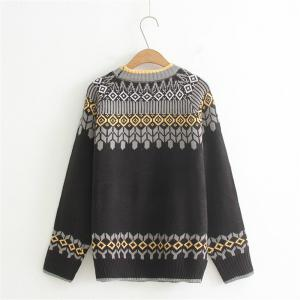 2017 New Ladies' Knitting Ethnic Wind Style Sweater -
