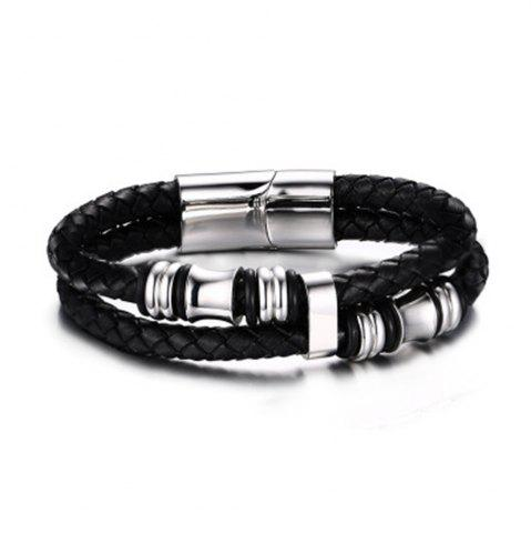 Shop 2017 New Fashion Accessories Bracelet Delicate Men's Braided Leather Cord