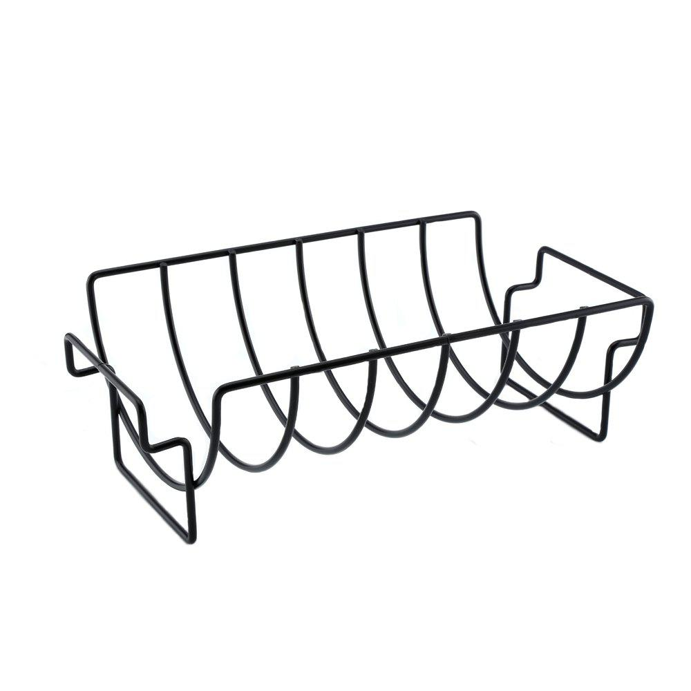 Shop Non-stick Rib Rack Great for Cooking Ribs Roasts Chickens Camping  Picnics  and Other Outdoor Activities