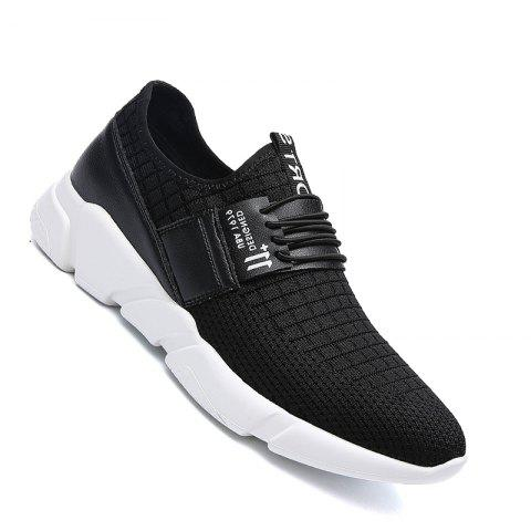 Cheap Men Casual New Trend for Fashion Mesh Outdoor Rubber Flat Shoes