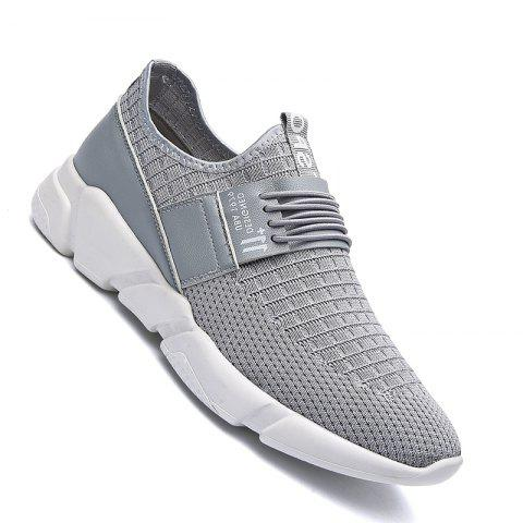 Hot Men Casual New Trend for Fashion Mesh Outdoor Rubber Flat Shoes
