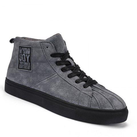 New Men High Top Fashion Jogging Athletic Breathable Walking Sneakers