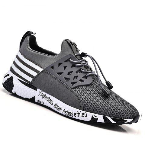 Cheap Men Leisure Fashion Hiking Sport Running Shoes Breathable Walking Sneakers