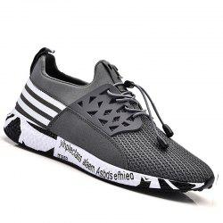 Men Leisure Fashion Hiking Sport Running Shoes Breathable Walking Sneakers -