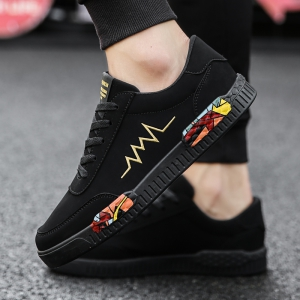 Fashion Men Leisure Shoes Breathable Walking Casual Sneakers -