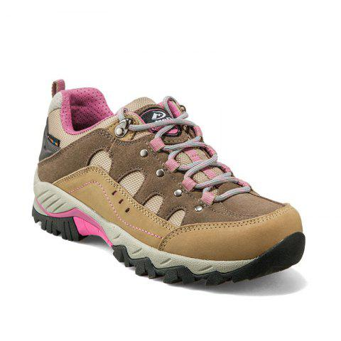Chic Hiking Shoes Low-cut Sport Shoes Breathable Hiking Boots Athletic Outdoor Shoes for Women