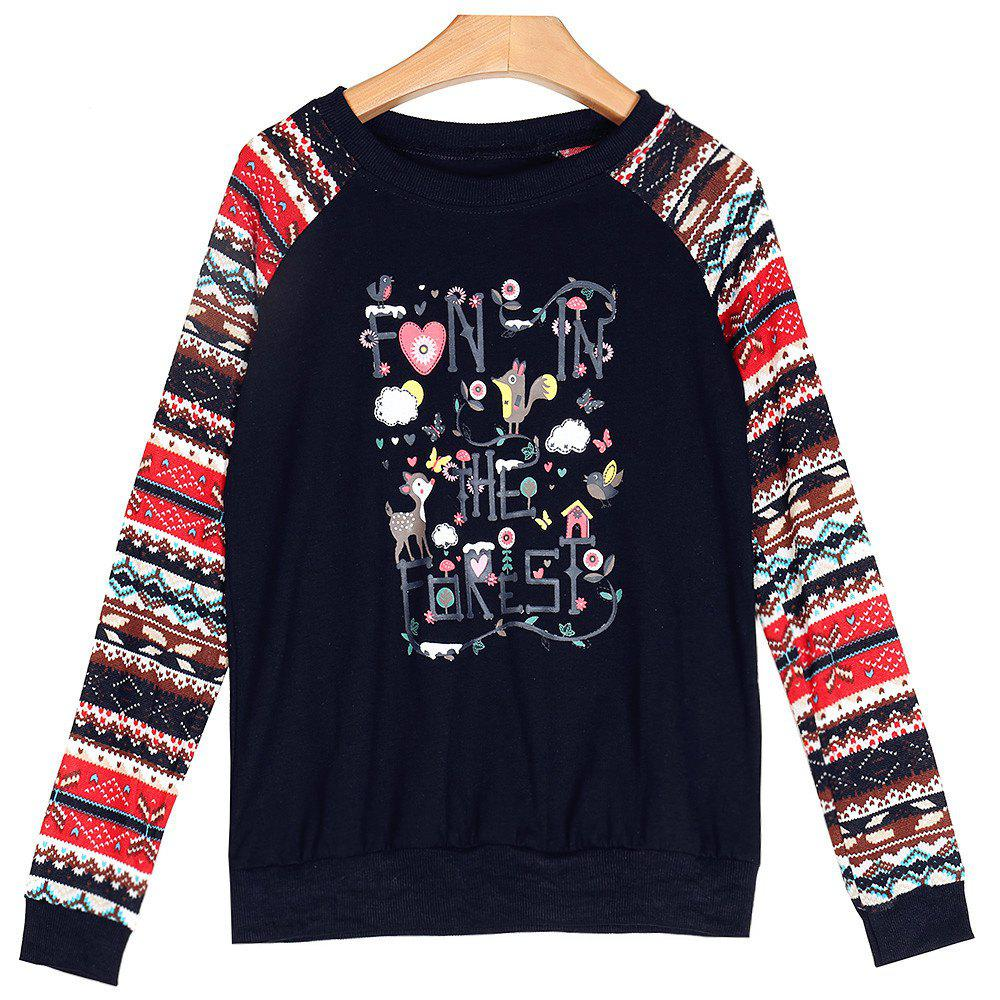 Buy Christmas T-Shirt Blouse Bottoming Shirt