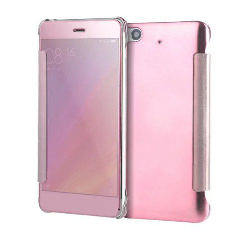 Online Luxury Mirror PU Leather Smart Flip Hard Protective Back Cover Case for Xiaomi 5S