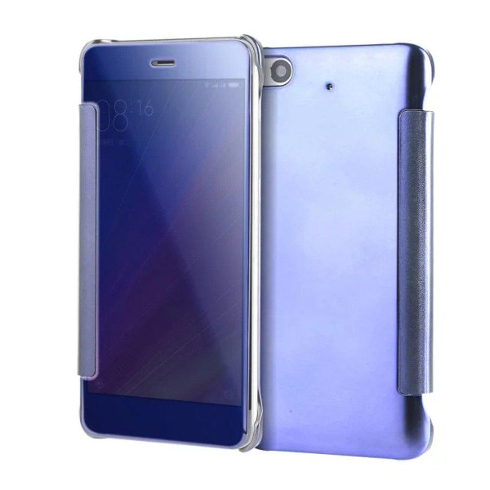 Sale Luxury Mirror PU Leather Smart Flip Hard Protective Back Cover Case for Xiaomi 5S
