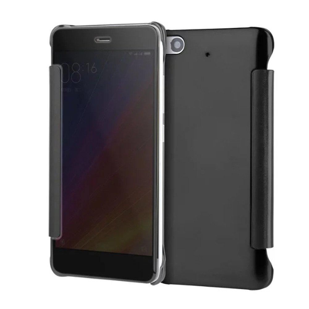 Hot Luxury Mirror PU Leather Smart Flip Hard Protective Back Cover Case for Xiaomi 5S