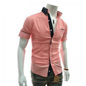 Men's Casual Short Sleeved Shirts -