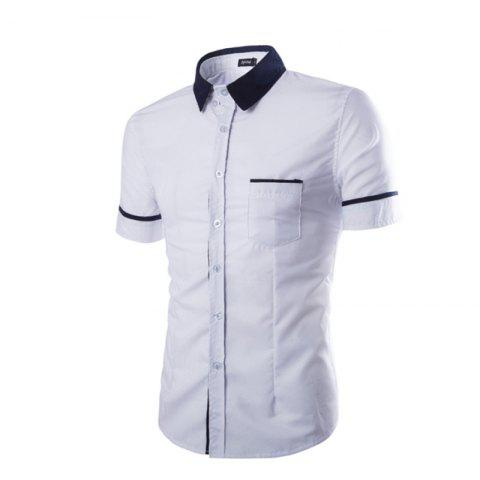 Fashion Men's Casual Short Sleeved Shirts