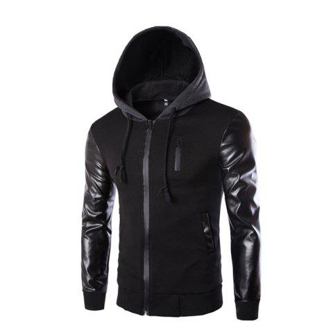 Fancy Men's Wear Hooded Jacket