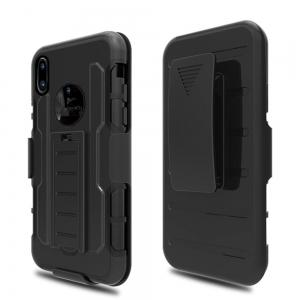 Shatter-resistant with Bracket Phone Case for iPhone X -