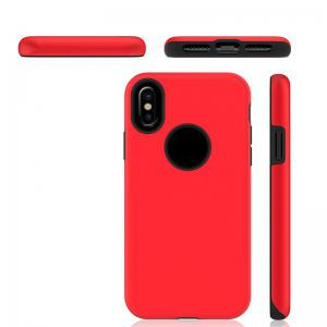 2 in 1 Non-slip Phone Case for iPhone X -