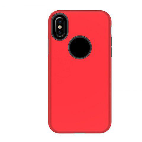 Cheap 2 in 1 Non-slip Phone Case for iPhone X