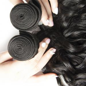Malaysian Water Wave Virgin Human Hair Extension Natural Color 1 bundle 12inch - 26inch -