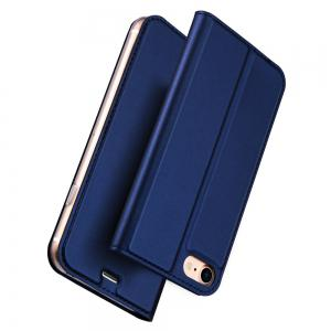 Luxury Leather Flip Wallet Book Cover for iPhone 8  / 7 Case -