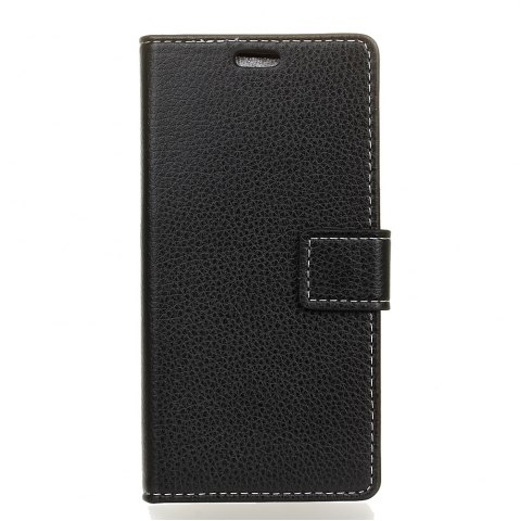Online Litchi Pattern PU Leather Wallet Case for One Plus 5