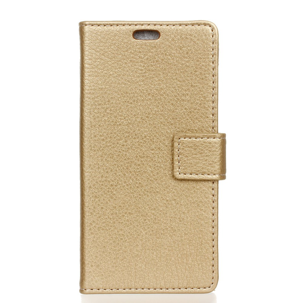 Cheap Litchi Pattern PU Leather Wallet Case for Huawei P8 Lite 2017