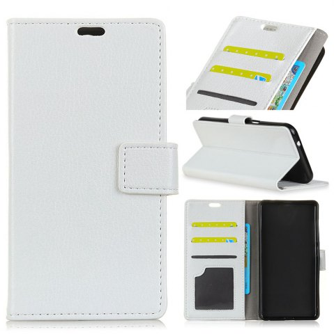 Online Litchi Pattern PU Leather Wallet Case for Huawei Enjoy 7