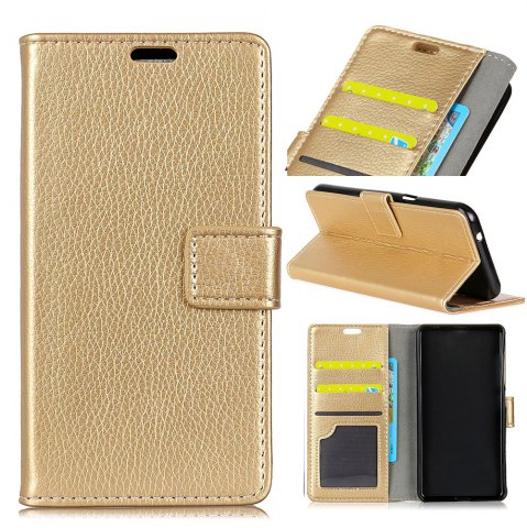 Discount Litchi Pattern PU Leather Wallet Case for Huawei Enjoy 7