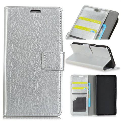 Shops Litchi Pattern PU Leather Wallet Case for Huawei Enjoy 7