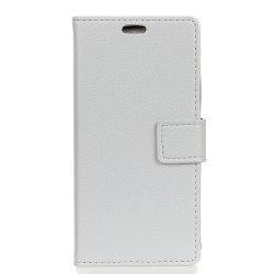 Litchi Pattern PU Leather Wallet Case for Huawei Honor 5A -