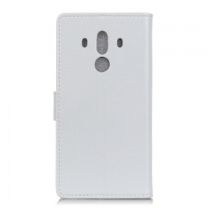 Litchi Pattern PU Leather Wallet Case for Huawei Mate 10 Pro -
