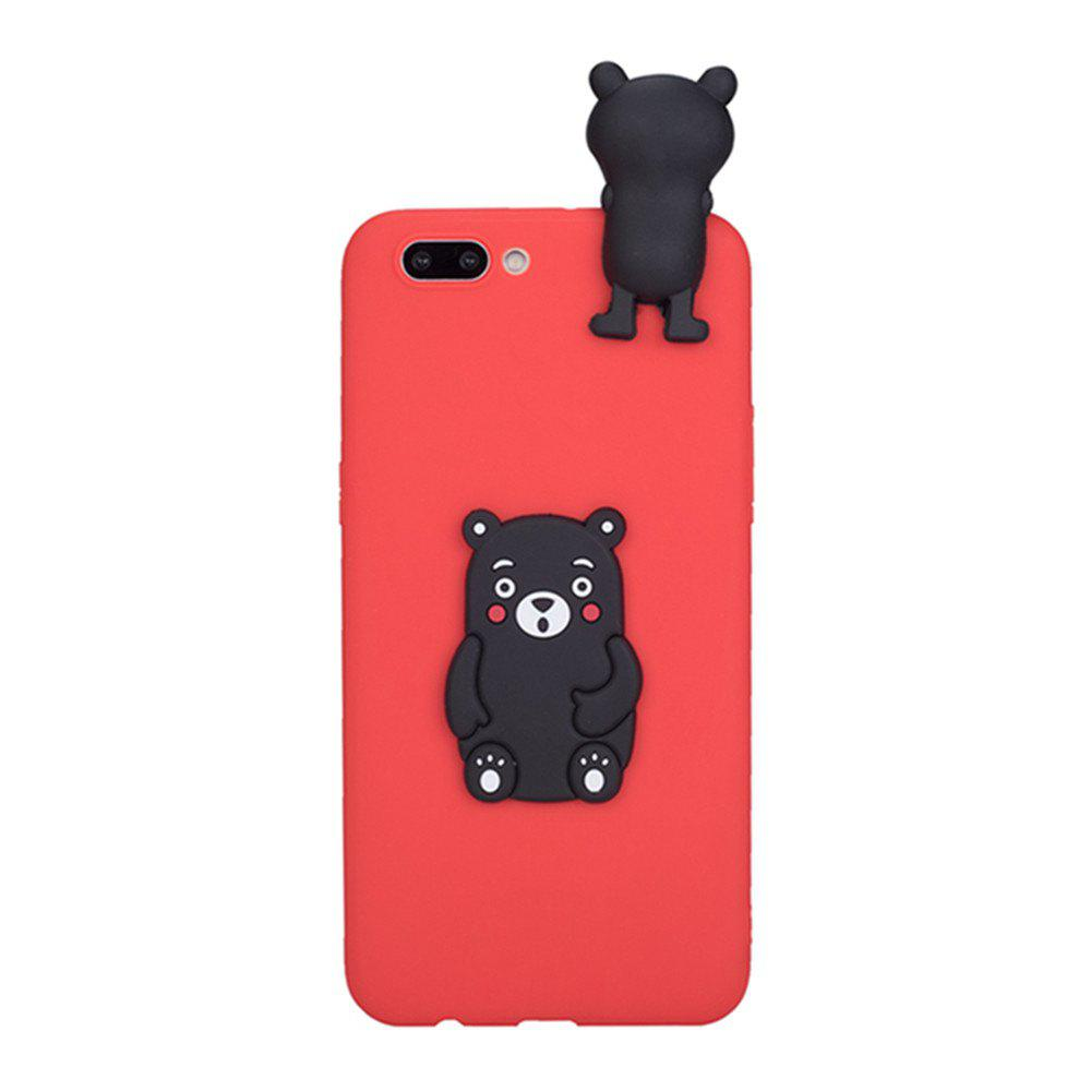 Unique 3D Cute Cartoon Kawaii Ultra Thick Soft Silicone Rubber Bear Case Cover for iPhone 7 Plus