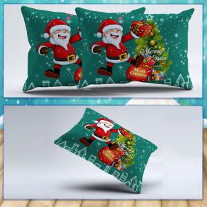 3D Printed Christmas Santa Bedding Set Polyester Duvet Cover Christmas Bedroom Decorations -
