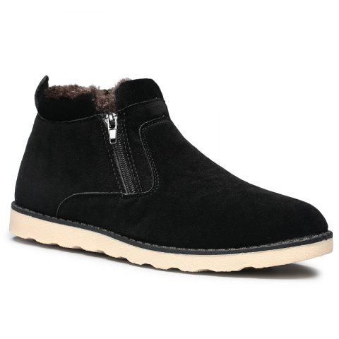 Fancy Winter Men Thicker High Plus Velvet Warm Snow Boots