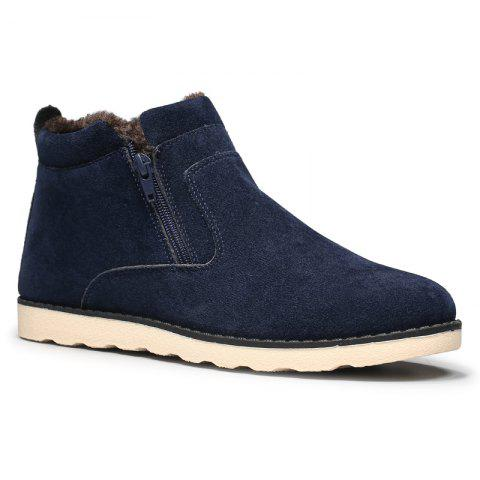 Fashion Winter Men Thicker High Plus Velvet Warm Snow Boots