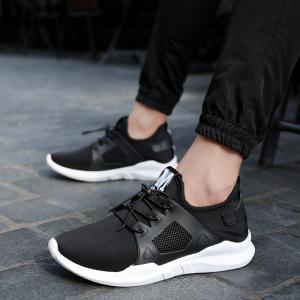 Autumn and Winter Wild Solid Color Breathable Casual Sports Men'S Shoes -