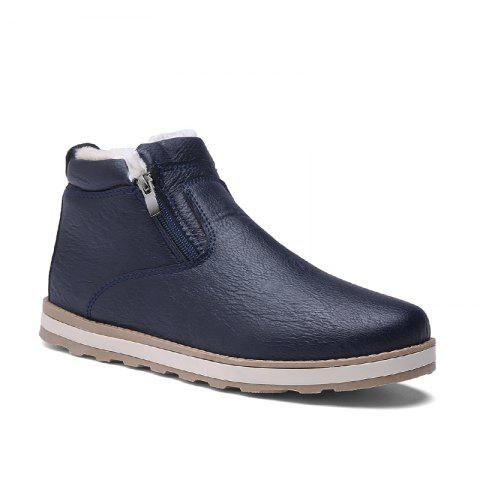 Fashion Autumn and Winter Plus Velvet Casual Breathable Non-Slip Men'S Shoes