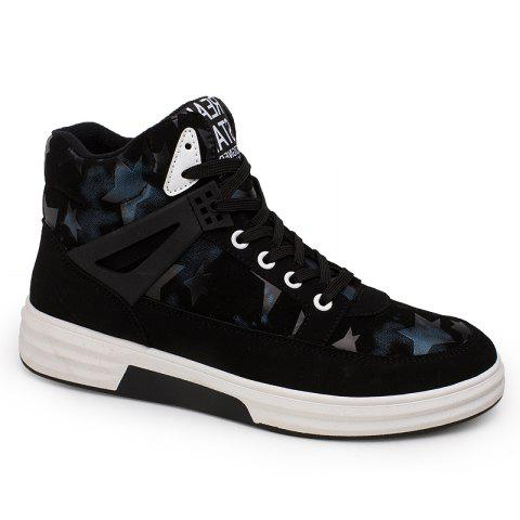 Outfits Autumn and Winter High Top Plus Velvet Casual Sports Men'S Shoes