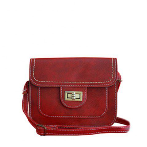 New Women's Crossbody Retro Solid Color All Match Dainty Chain Bag
