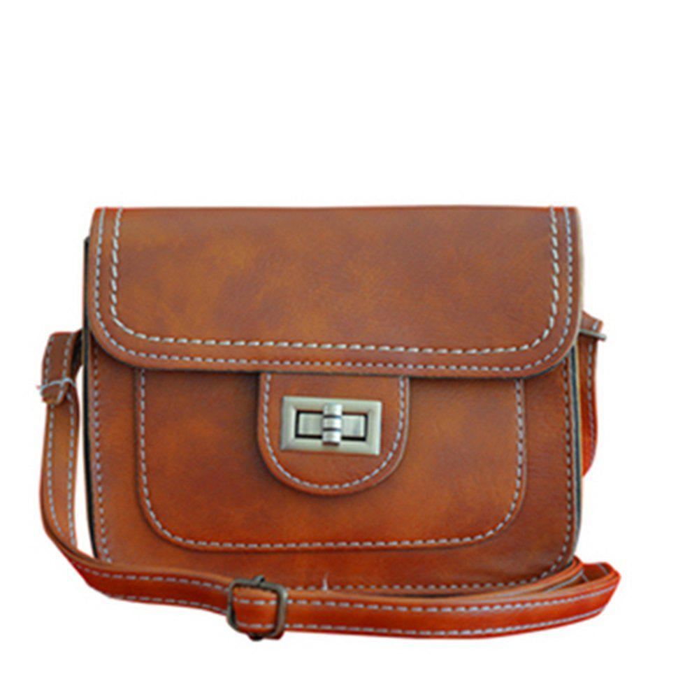 Hot Women's Crossbody Retro Solid Color All Match Dainty Chain Bag
