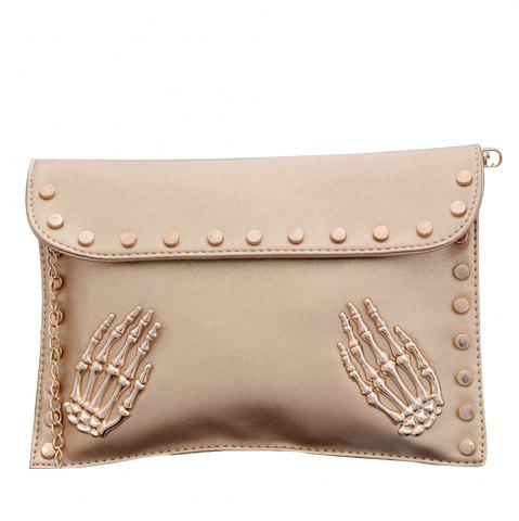 Unique Women's Crossbody Fashion Personality Rivet Chain Bag