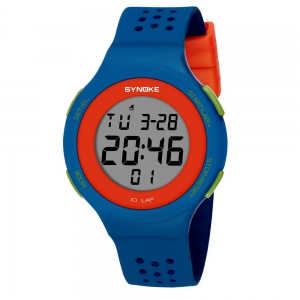 SYNOKE 67866 Slim Trendy Waterproof Unisex Electronic Watch -