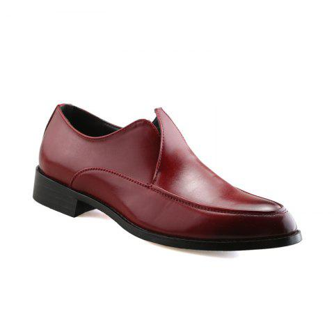 Fancy Casual Leather Young Men'S Shoes
