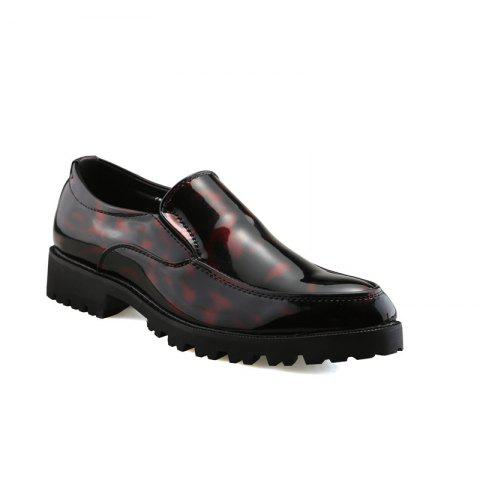 Buy Leather Club Trend Casual Bright Face Men'S Shoes
