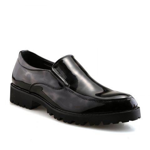Outfit Leather Club Trend Casual Bright Face Men'S Shoes