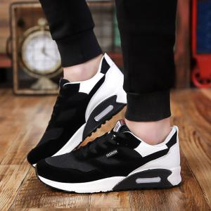 Men'S Shoes Fall Tide Shoesnew Running Sports Casual Shoe South Korean Version of The Student Board Shoes -