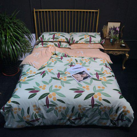 Trendy 100 Percent Cotton Bed Linings Quilt and Sheet Sets