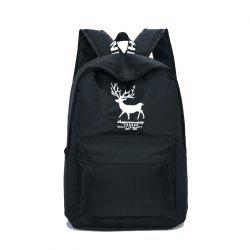 Men's Canvas Travel Backpack -