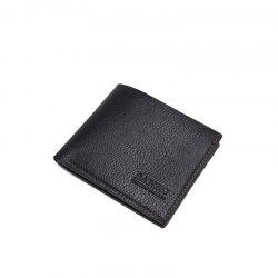 Men's Simple Business Casual Wallet Leather Card Holder Purse -