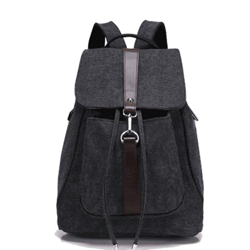Hot Classic Vintage Canvas Double Shoulder Bag